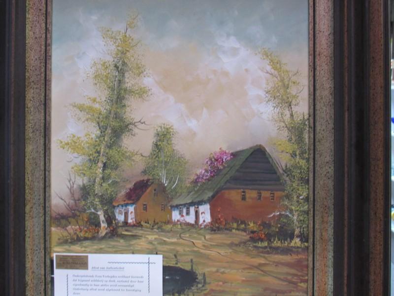 Schilderij van Nora Verheyden, met attest van authenticiteit, 20e eeuw
