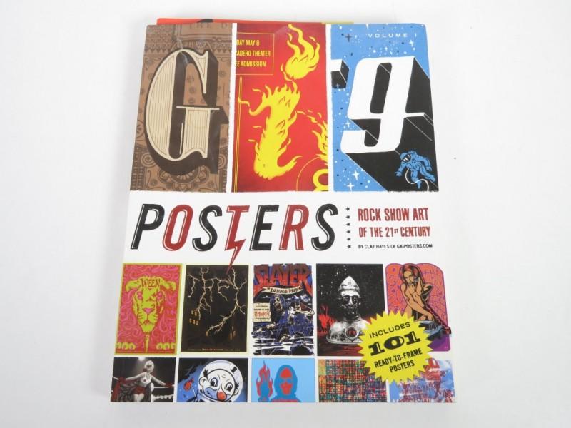 Boek - Posters - Rock show art of the 21st centure