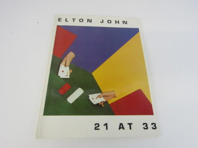 Songbook, Elton John, 21 at 33, 1980