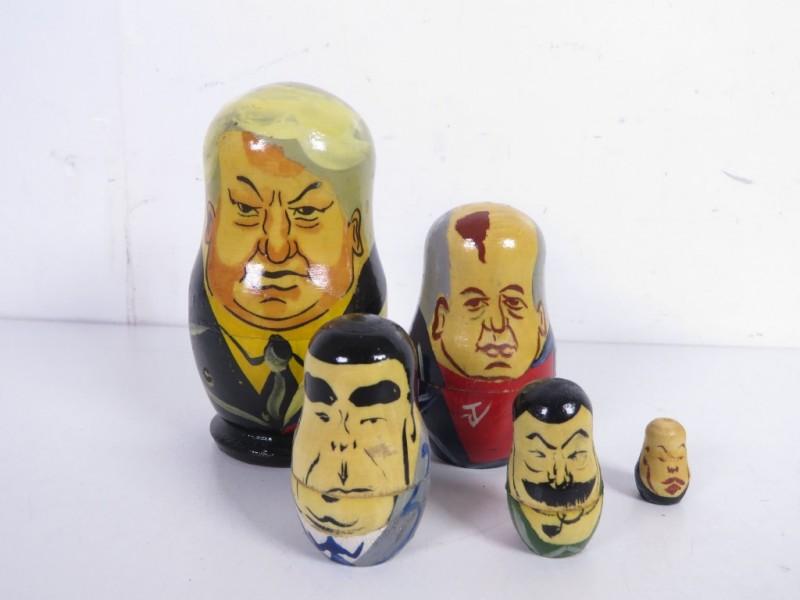 Matroejska's van oude Soviet presidenten