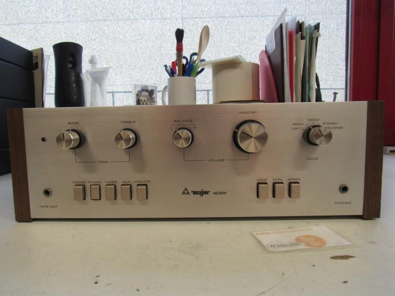 Major AS2000 stereo versterker