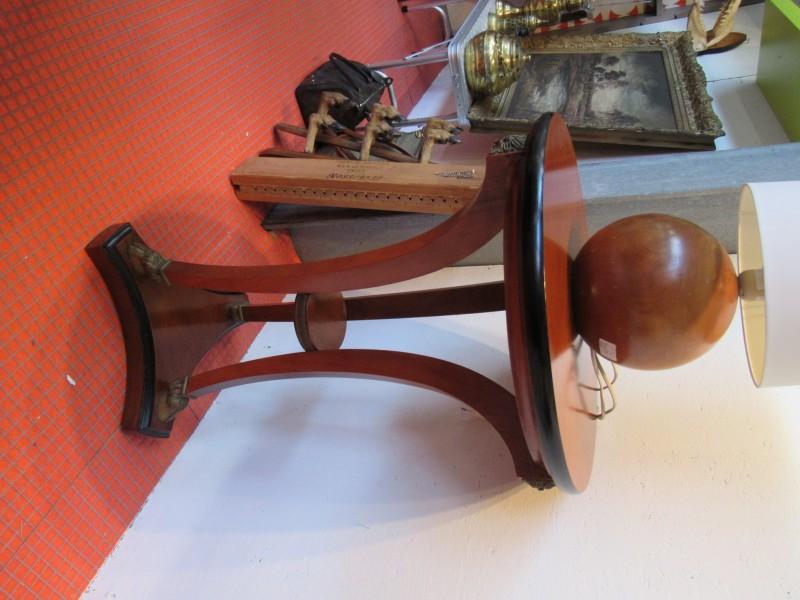 Vintage houten bijzettafel Baggio