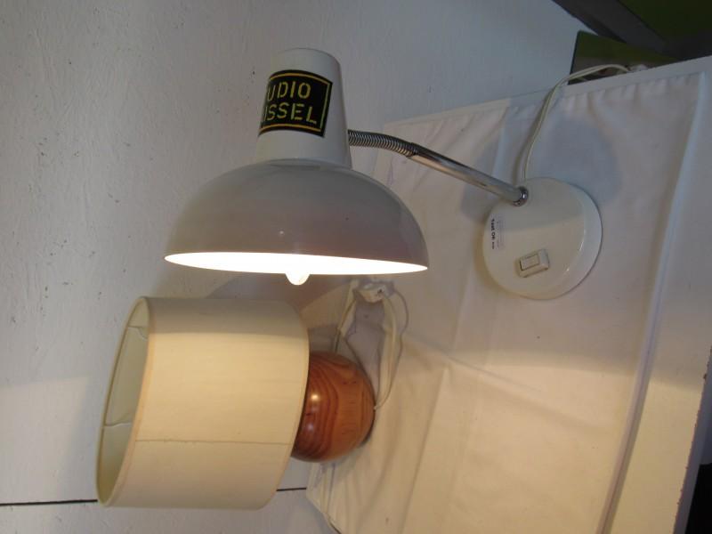 Vintage bureaulamp, werkend