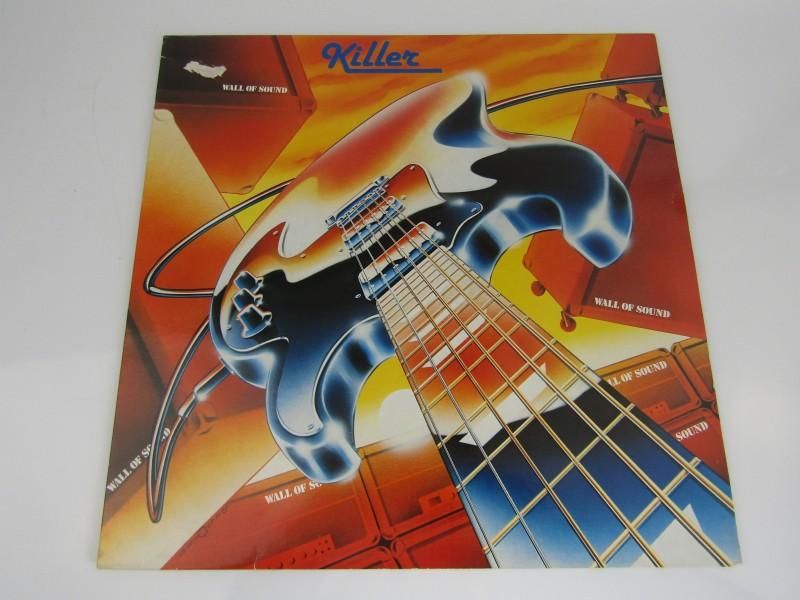 LP, Killer: Wall Of Sound, Lark Records, 1982