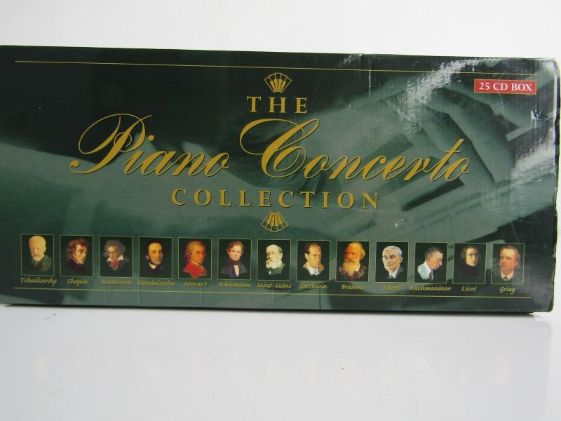 25 CD Box: The Piano Concerto Collection