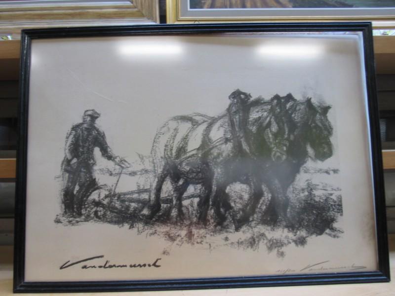Kunstwerk van Mark Vandermeersch, beperkte oplage 161/200 - gesigneerd