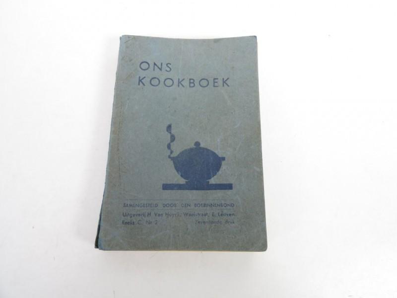 Boek - Ons kookboek