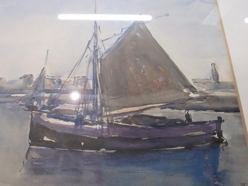 Aquarel J. Verbruggen 1985