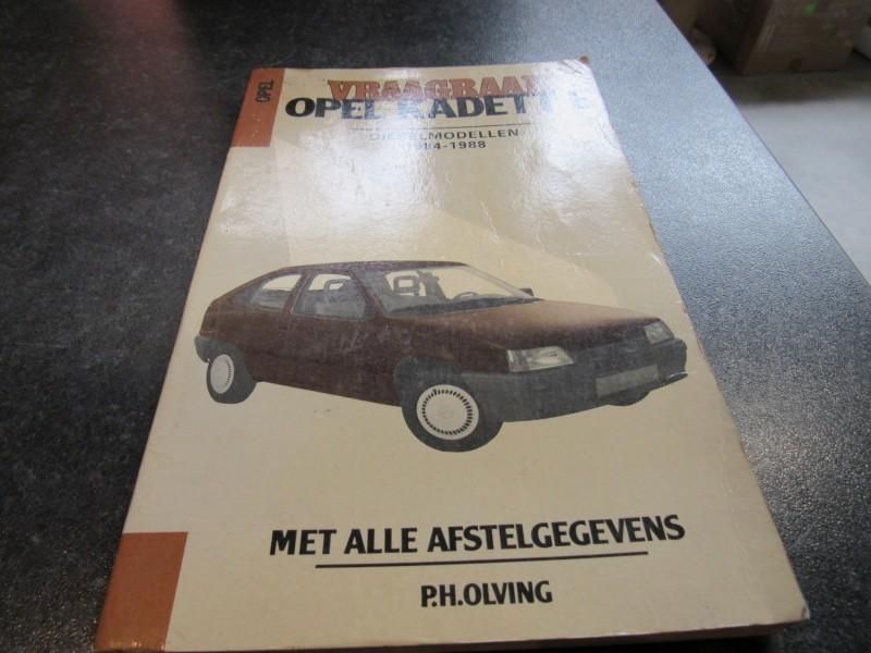 Vraagbaak Opel Kadett E - P.H.Olving