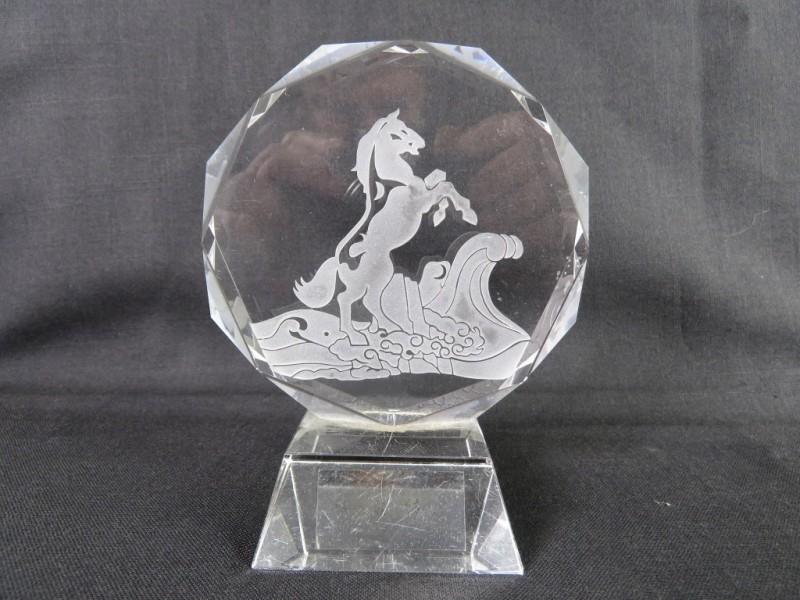 Kristallen beeld - Paard