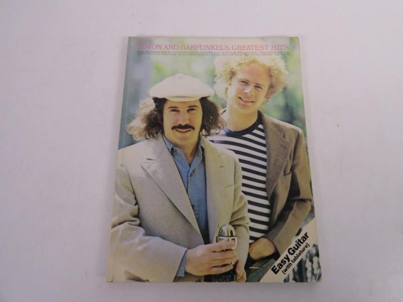 Boek - Easy guitar - Simon and Garfunkel's greatest hits