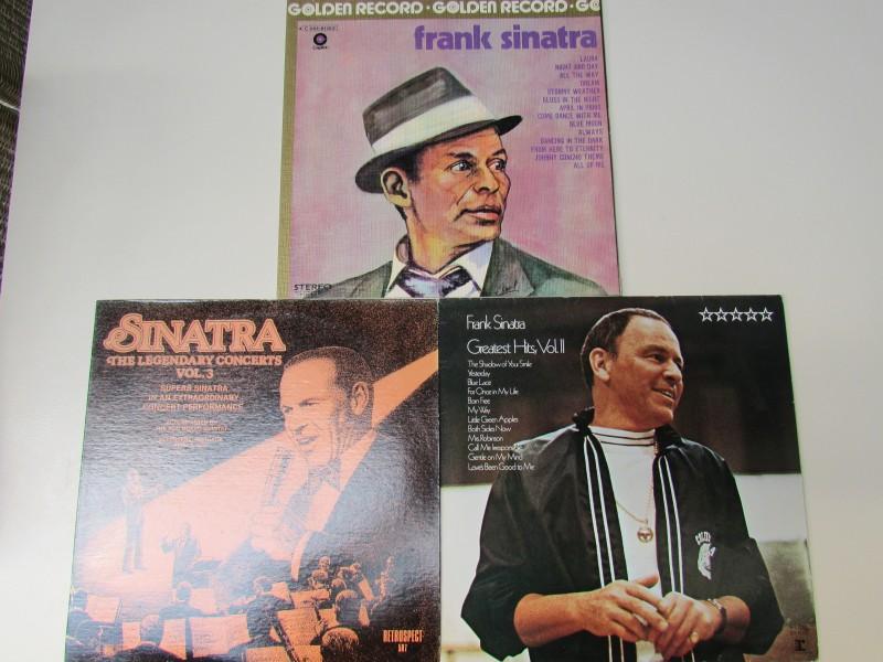 3 x Vinyl langspeelplaat Frank Sinatra