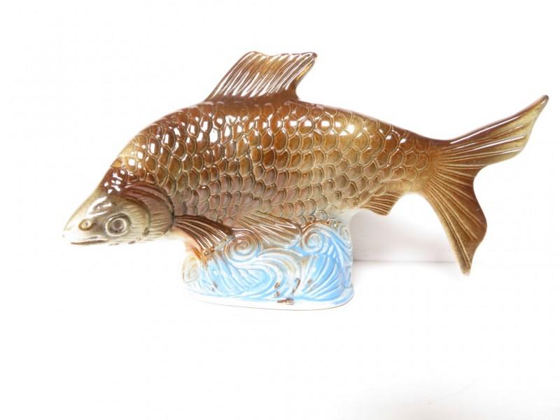 Porseleinen beeld van vis