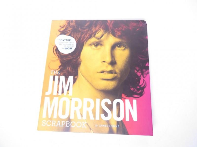 Boek - Jim Morrison scrapbook