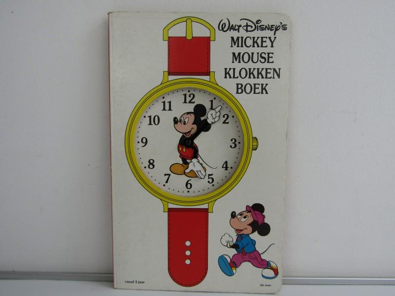 Mickey Mouse Klokken Boek, Walt Disney, 1989