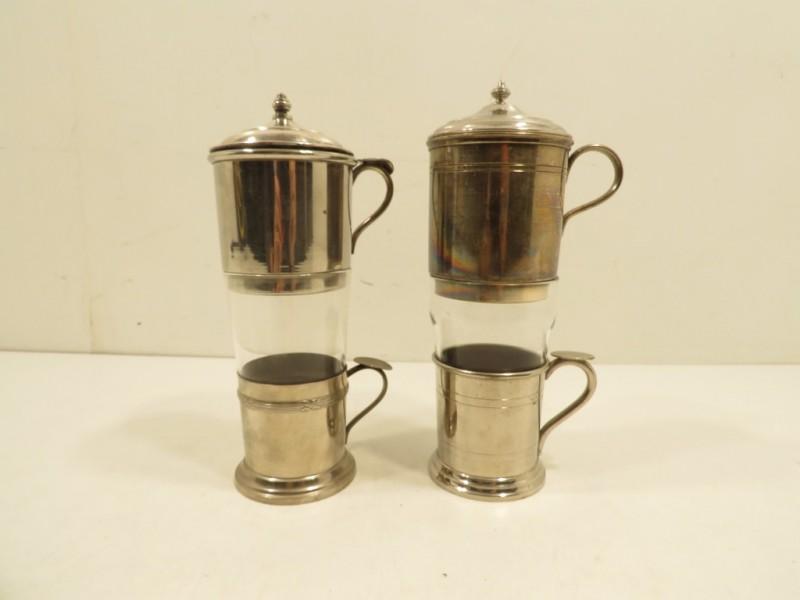 Set van 2 thee- en koffiefilters