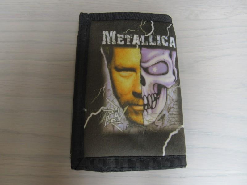 vintage Metallica portefeuille