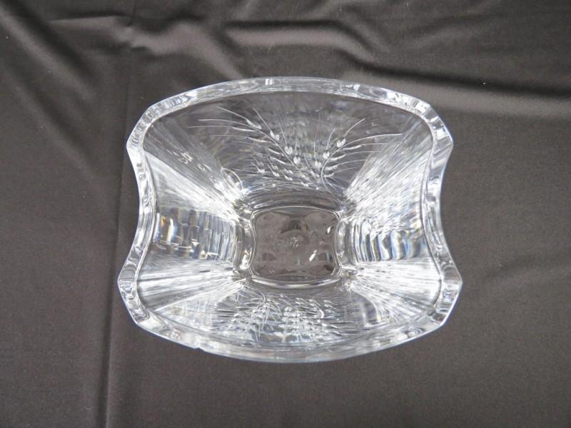 Rechthoekige kristallen vaas