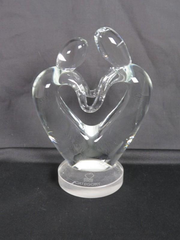 Glazen beeld gemerkt connect 2008