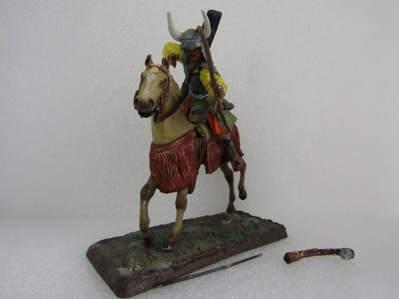 Tinnen Speelgoed: Ruiter met Paard