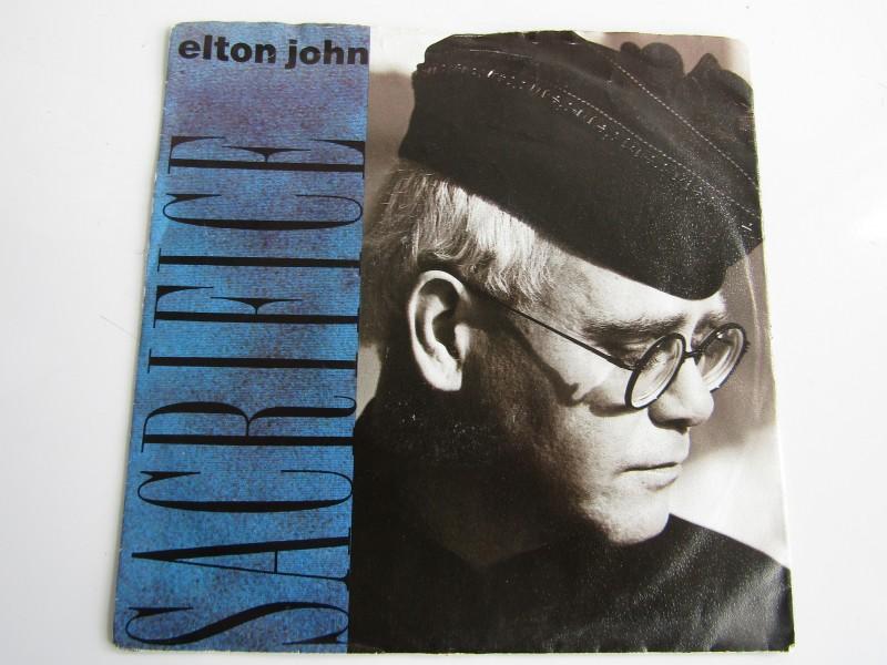 Single, Elton John: Sacrifice, 1989