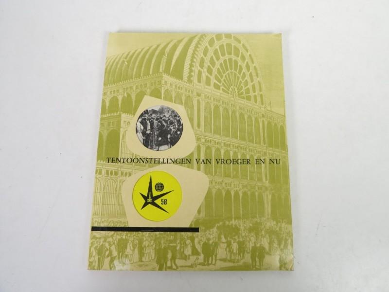 Boek - Expo 58 - Tentoonstellingen van vroeger en nu