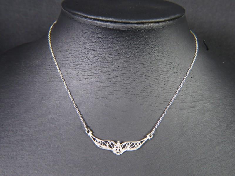 Zilveren halsketting 835