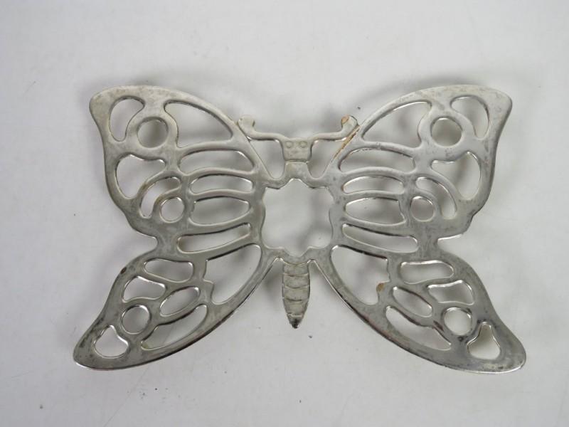 Onderzetter in vorm van een vlinder
