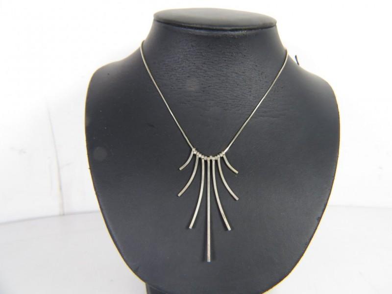 Zilveren halsketting 925 (2)