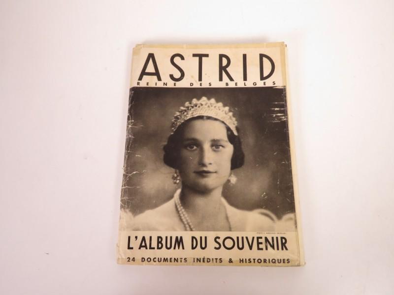 Astrid, Reine des Belges - L'album du souvenir