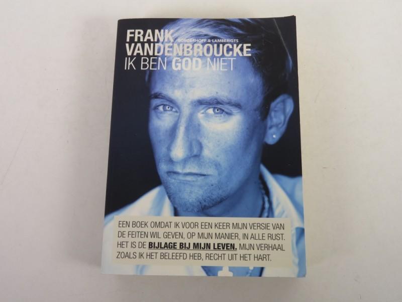 Boek - Frank Vandenbroucke -  Ik ben god niet