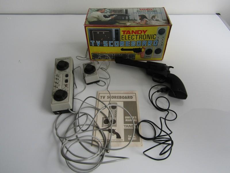 Retro Videospel: Tandy Electronic, TV Scoreboard