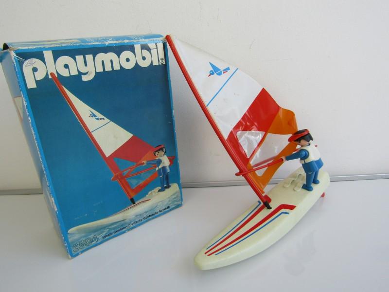 Vintage Playmobil: Windsurfer, Nr. 3584, 1983