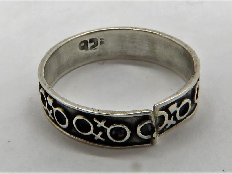 Zilveren ring 925