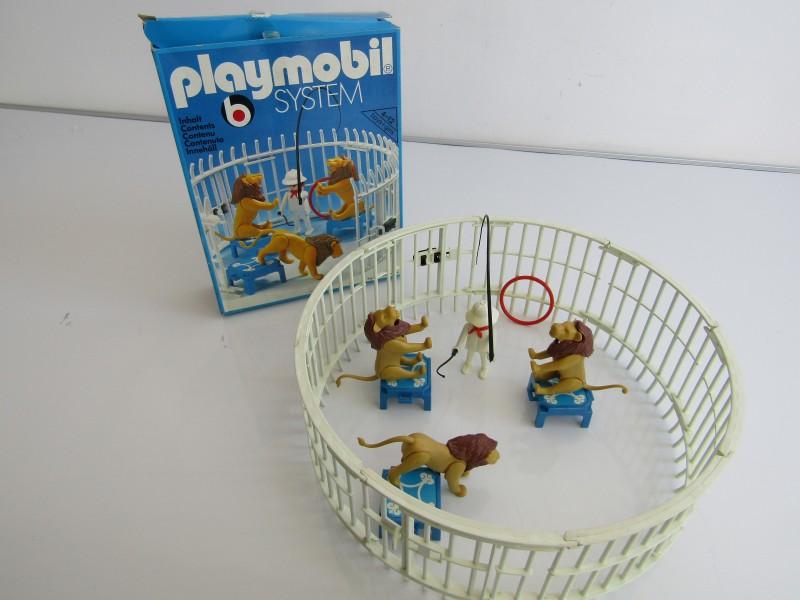 Vintage Playmobil: Circus Leeuwendressuur, Nr 3517, 1979
