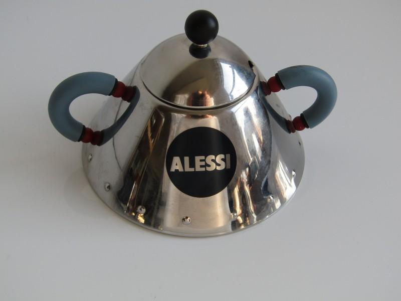 Alessi Design Suikerpot: 9026