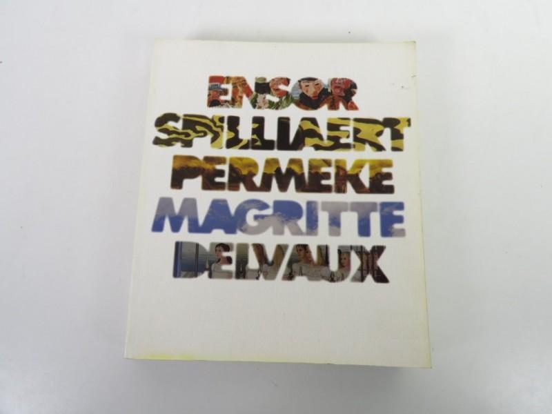 Boek - d'Ensor à Delvaux