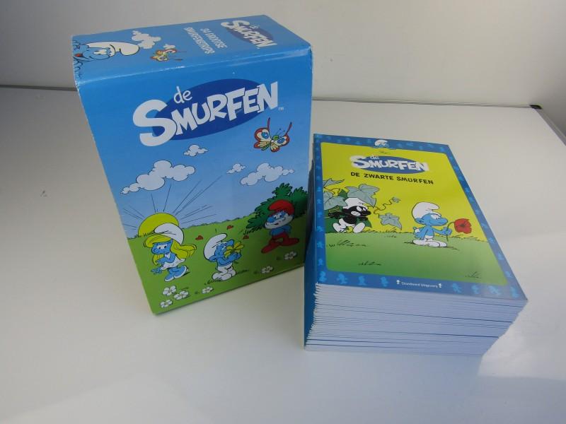 De Smurfen: Verzamelbox met 34 Strips