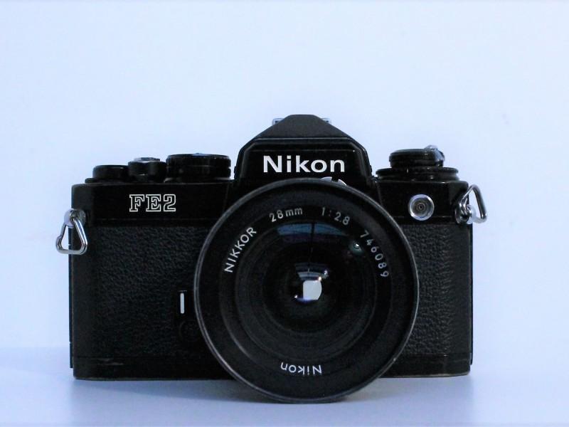 Nikon FE2 met toebehoren
