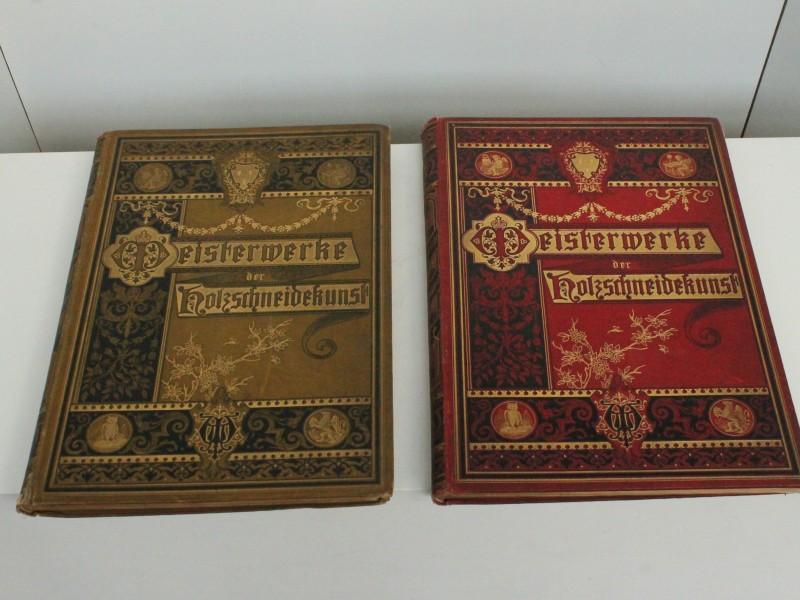 Boeken: Meisterwerke der Holzschneidekunst 1882