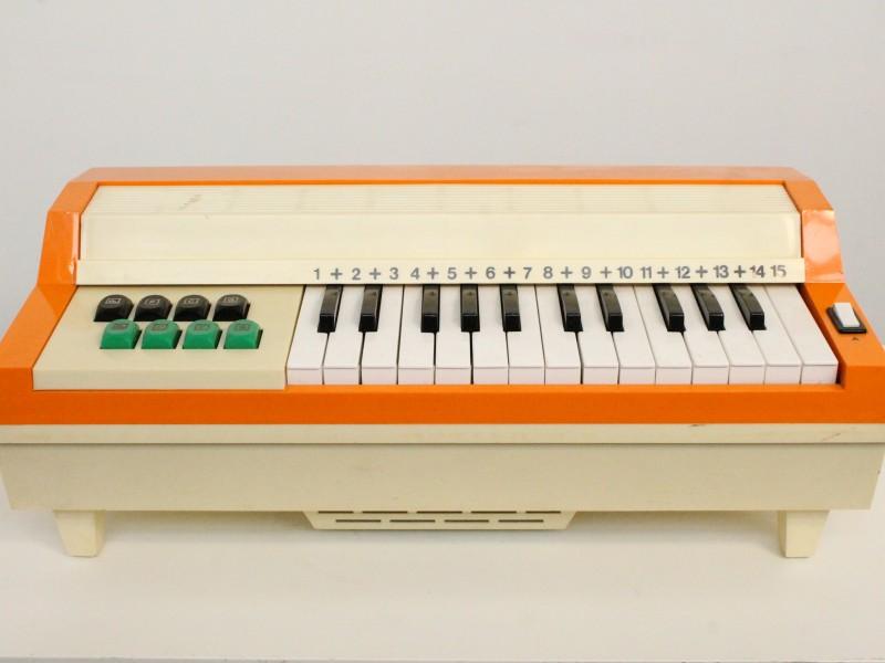 Vintage Elektronisch Orgel - Oranje