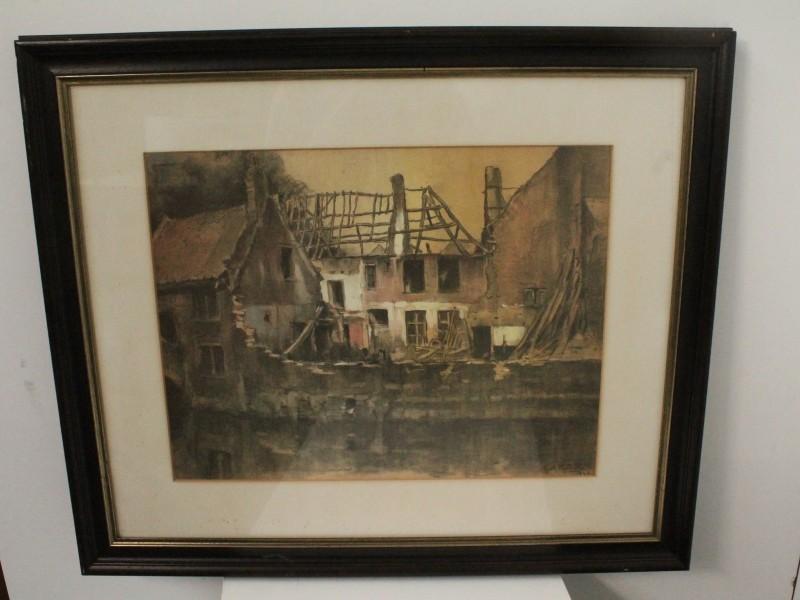 Schilderij: Guillaume Michiels 1933