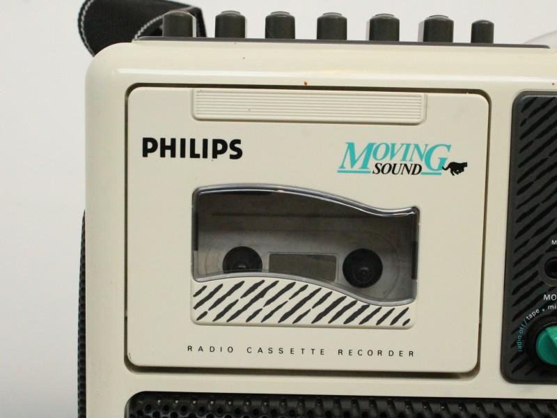 Philips Moving Sound D8082 - Draagbare Radio en Cassettespeler