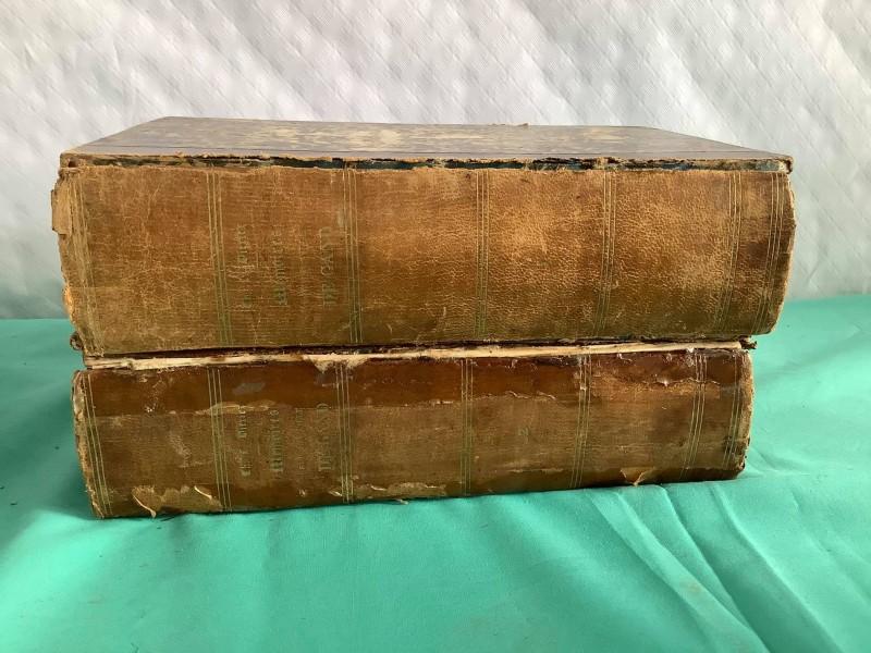 """Antiek boek """"Mémoires sur la ville de Gand"""" (2 delen)"""