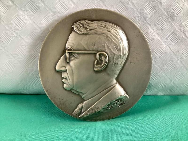Medaille voor Honore van Steenberge