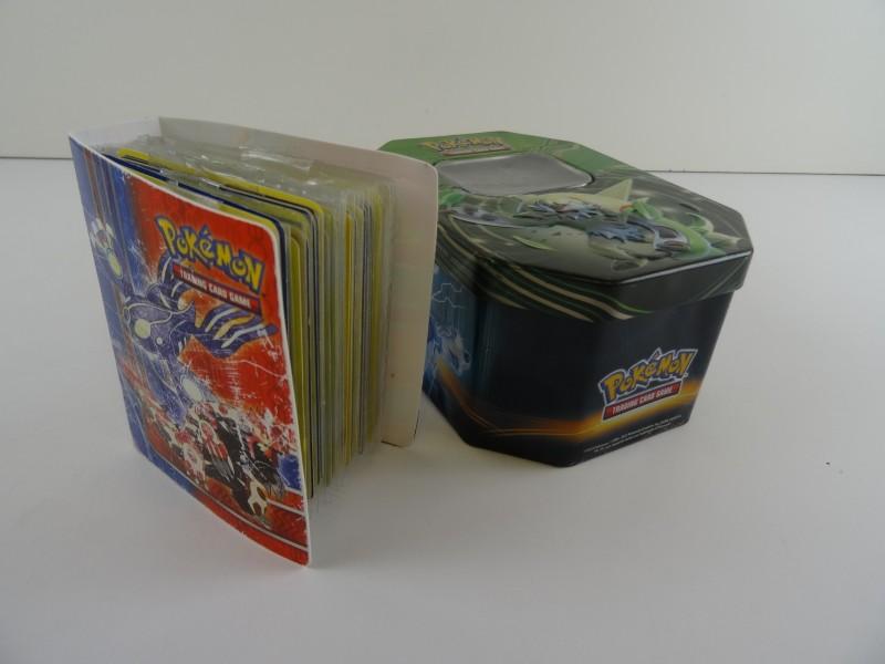 Lot Pokémonkaarten in box