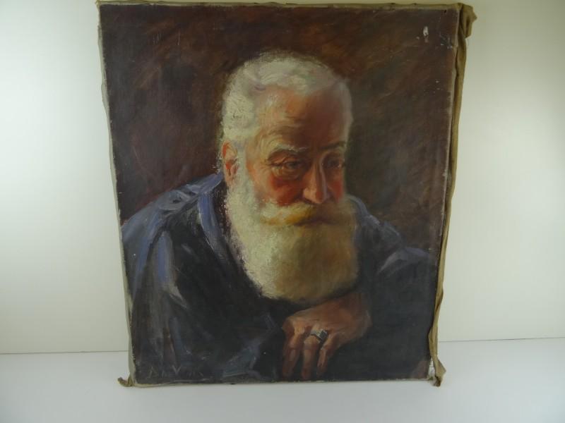 De vinck: portret oude man