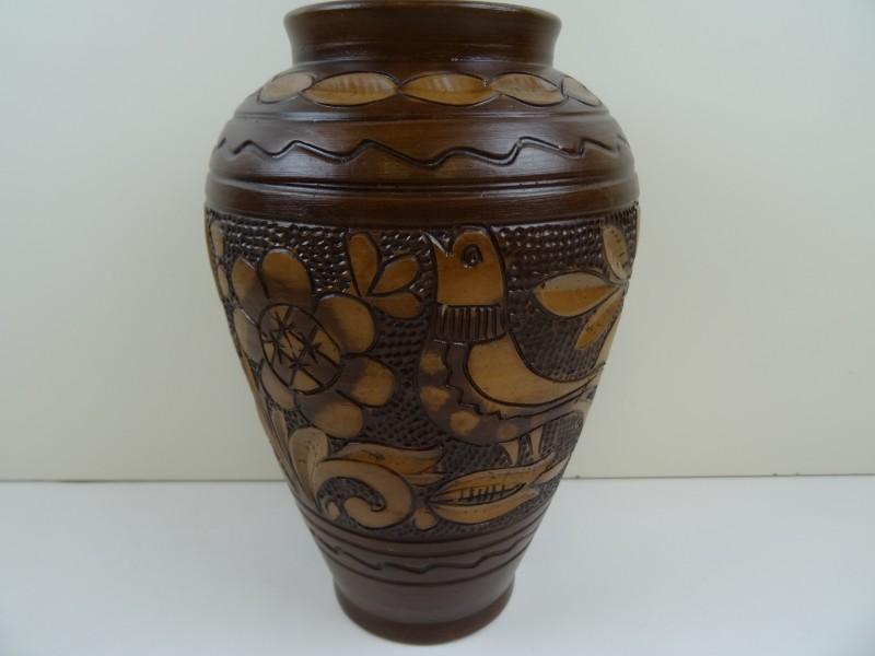 Vintage Roemeens aardewerk KOROND
