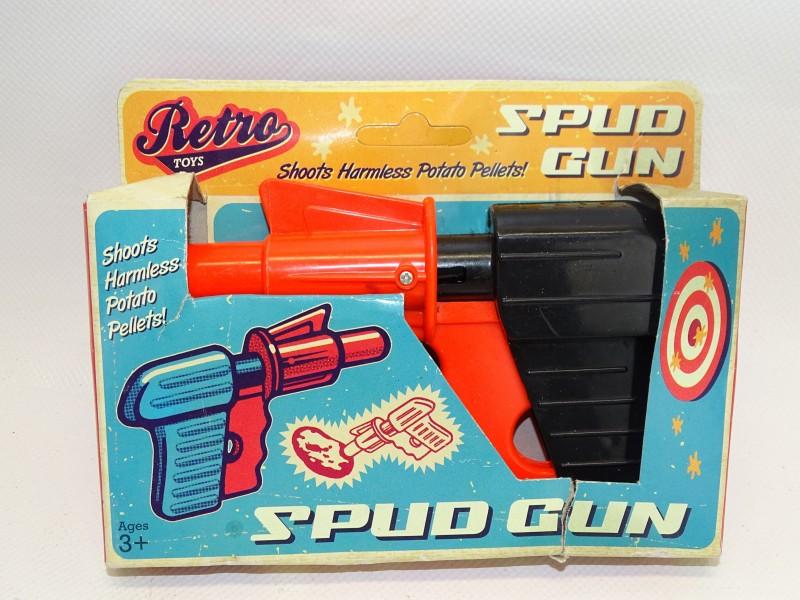 Spud Gun / Aardappelgeweer, Retro Toys