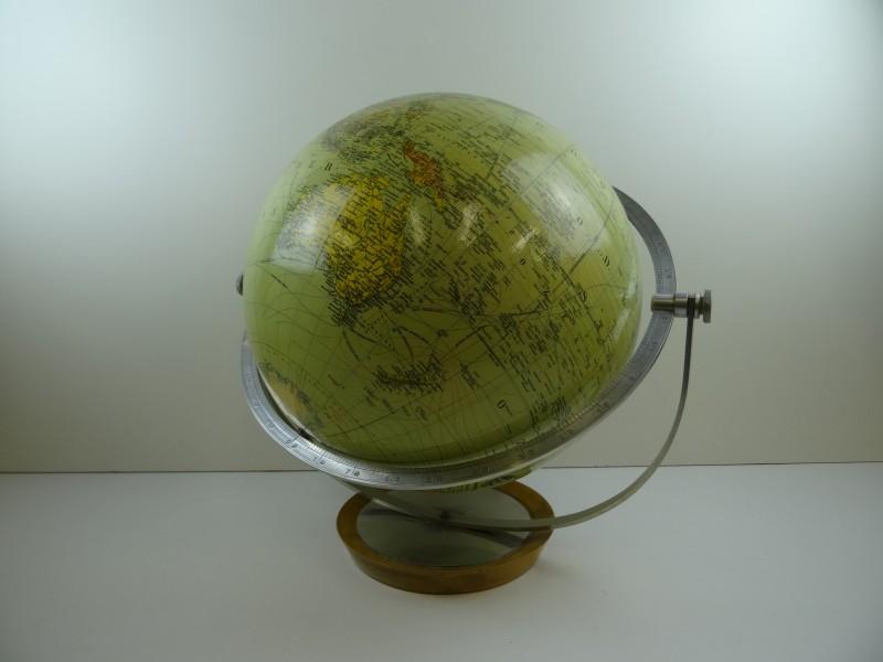 Vintage JRO GLOBUS wereldbol